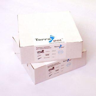 Комплект для крепежа террасной доски TERRAPOL