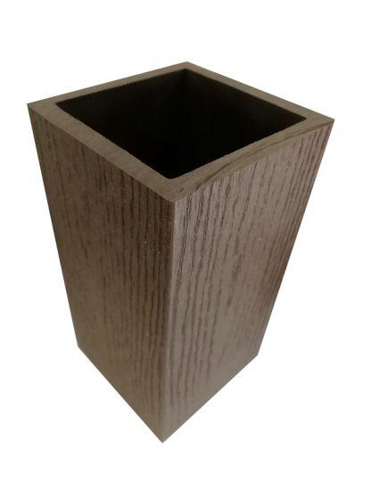 Столб из ДПК 100х100