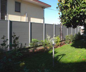 Забор из ДПК