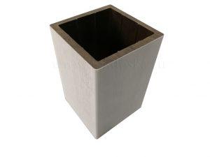 Столб из ДПК 100x100 Белый