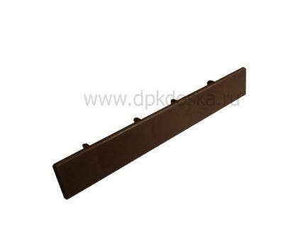 Заглушка Светло-коричневая к ДПК доске